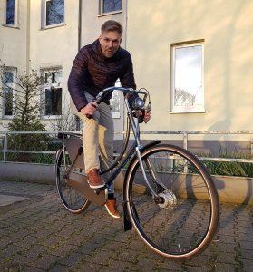 Der Lucky Biker mit dem Gazelle Tour