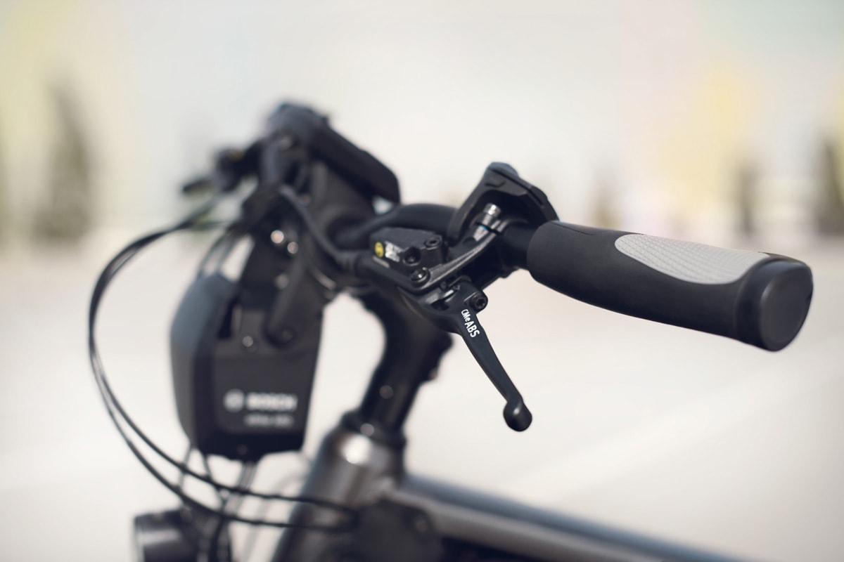 Bosch eBike ABS - Lucky Bike - Bremshebel mit ABS Kennzeichnung