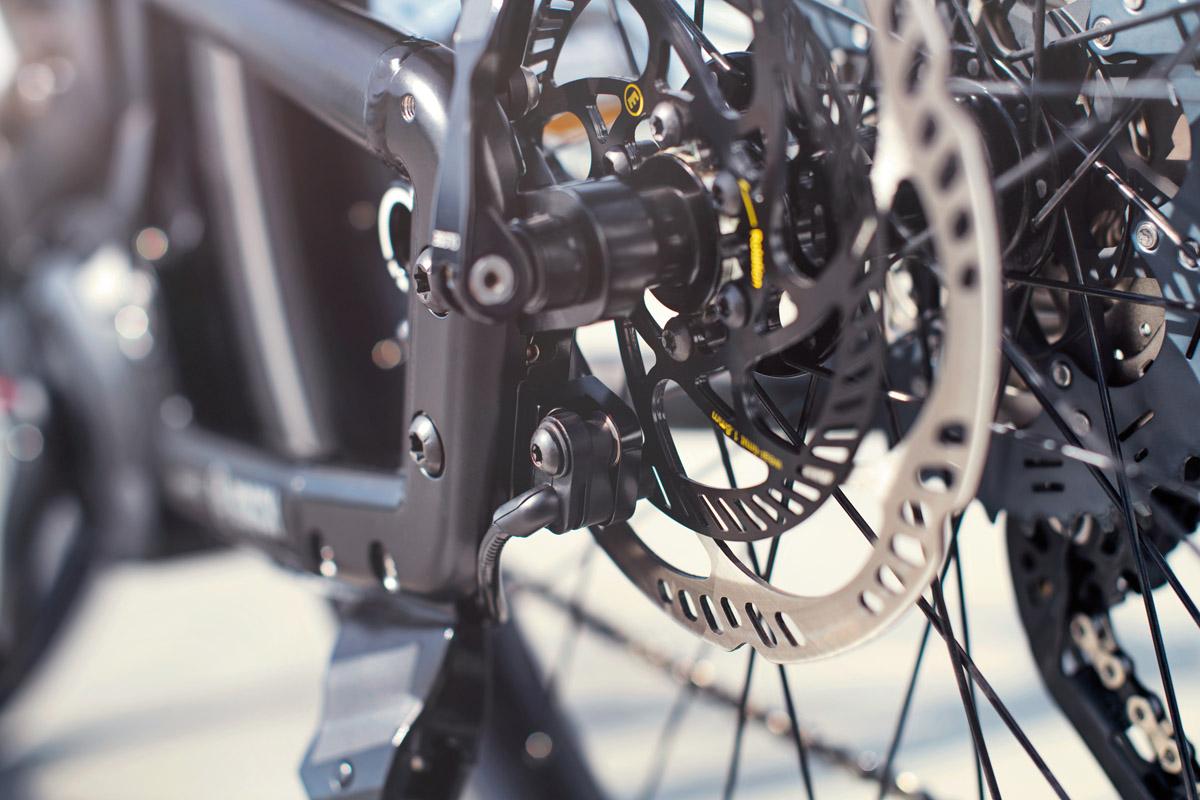 Bosch eBike ABS - Lucky Bike - Mit einem Bremssystem von Magura inklusive Sensorscheiben an den Bremsscheiben