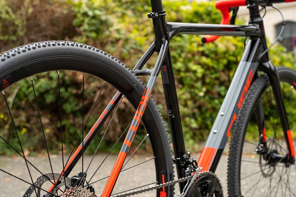 Cube Cross Race 2019 - Lucky Bike Testbericht - Rahmensetup