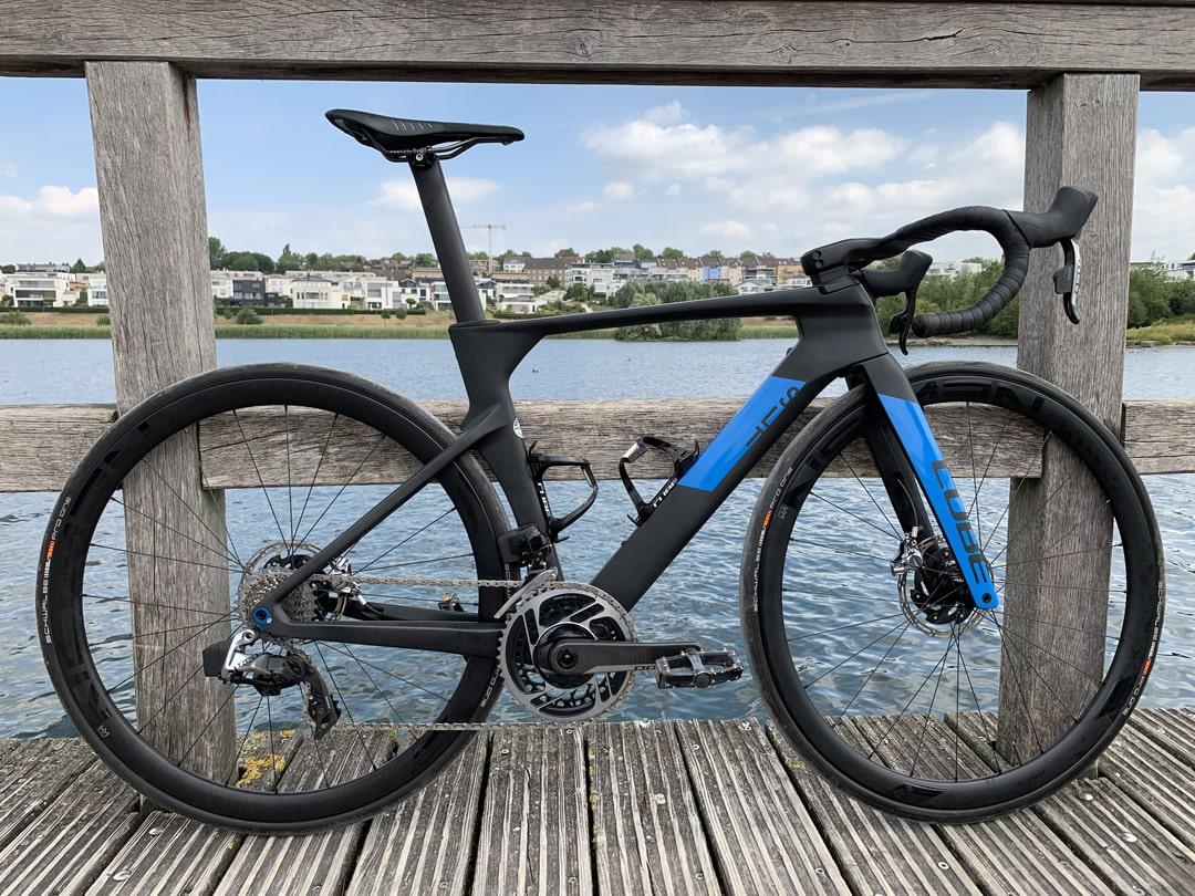 Cube Litening C:68X Rennrad Testfahrt Lucky Bike 2019 Tour de France