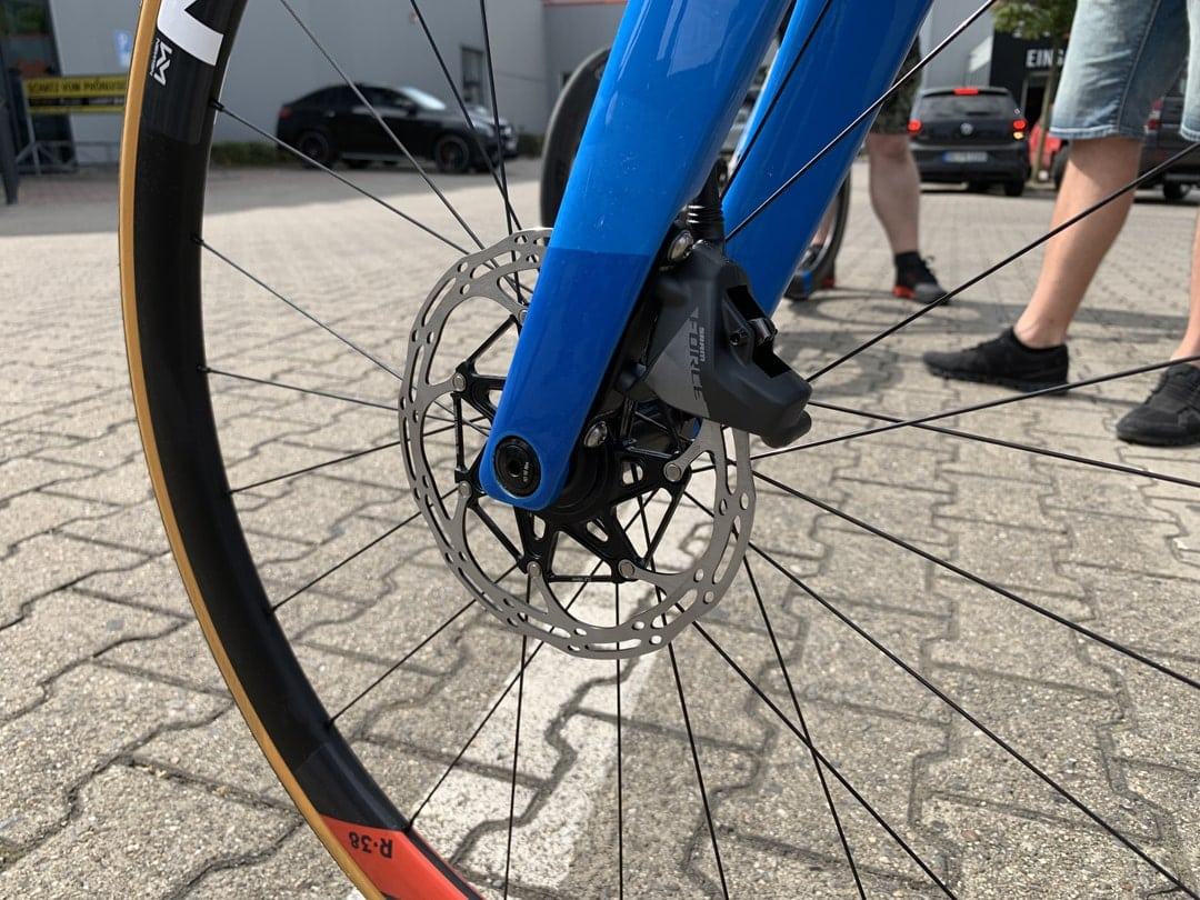 Cube Litening C:68X Rennrad Testfahrt Lucky Bike