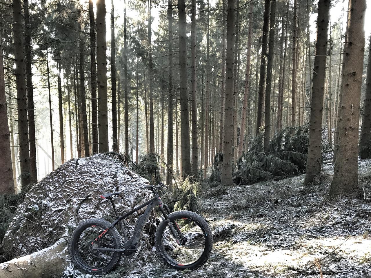 Cube Nutrail Hybrid 500 2018 im Gelände