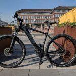 Cube Reaction Hybrid EXC 500 2019 - Frontalansicht Lenker links - Lucky Bike Test