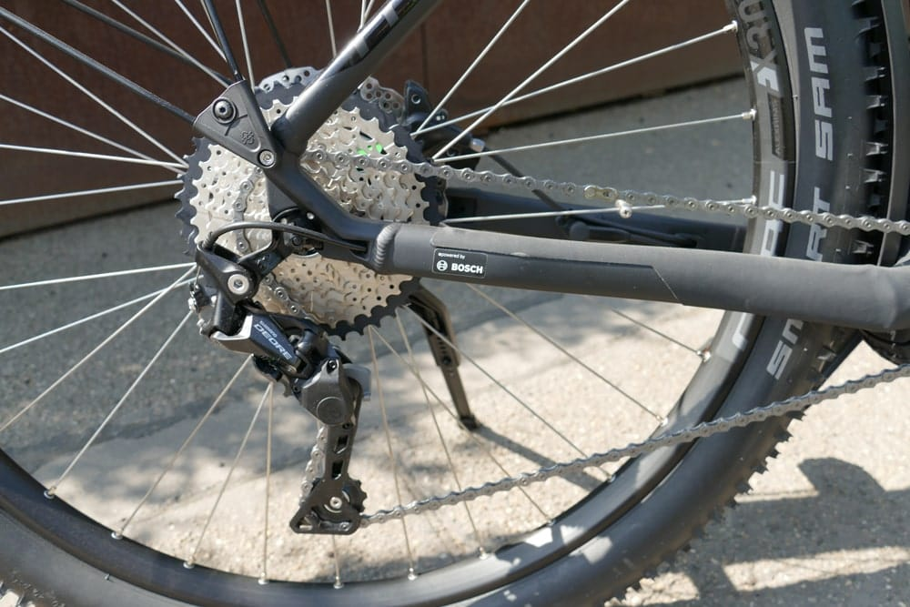 Cube Reaction Hybrid Pro 500 Allroad - Shimano Deore Shadow Schaltwerk
