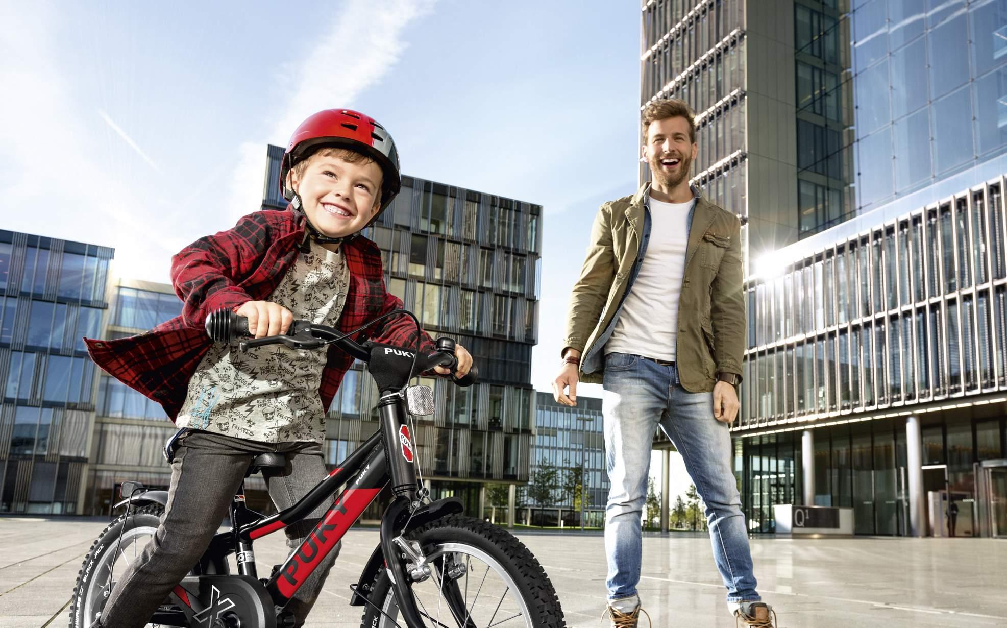 Das erste Fahrrad - so finden Sie das richtige Kinderfahrrad - Spaß beim fahren lernen - Lucky Bike