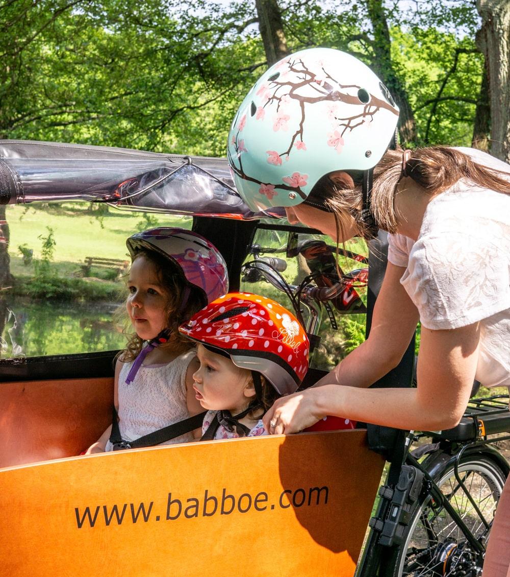 E-Lastenrad - Erfahrungsbericht einer Mutter - Babboe Big E fuer den Alltag - Lastenfahrrad Elektro zum Einkaufen