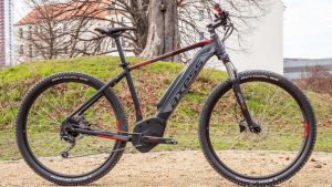 E-MTB - Axess Rogue E-Tech - E-Mountainbike Hardtail mit Technik von Bosch und Shimano