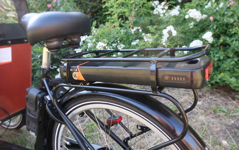 Elektro-Lastenrad mit starkem Akku - Babboe Big-E Qwic - Testbericht Lucky Bike Radlbauer