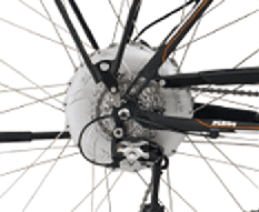 E-Bike Hinterradmotor