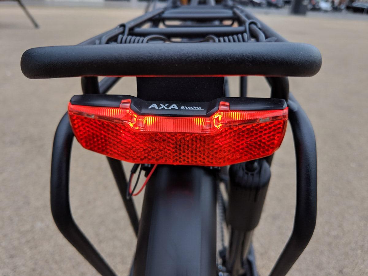 Kalkhoff Voyager E-Pro 500 2019 - Axa Lichtanlage Lucky Bike Blog Testbericht