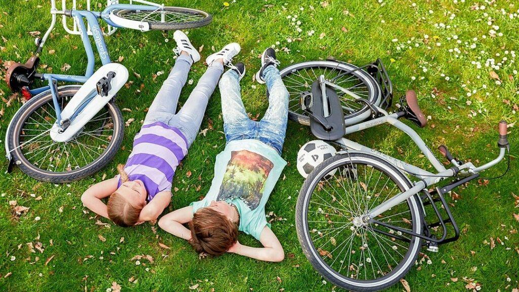 Wie verhalten sie sich jetzt richtig fahrrad