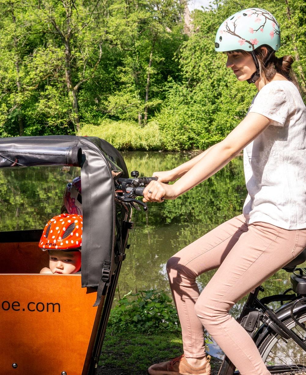 Lastenrad - Erfahrungsbericht einer Mutter - Babboe Big E mit Kindern - Lastenfahrrad Elektro