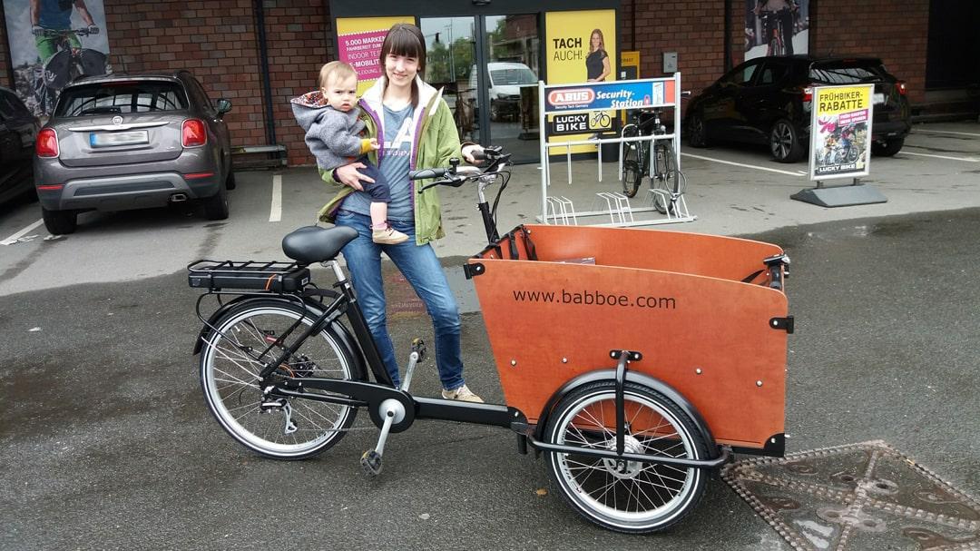 Lastenrad - Erfahrungsbericht einer jungen Mutter - Babboe Big E - Lastenfahrrad Elektro