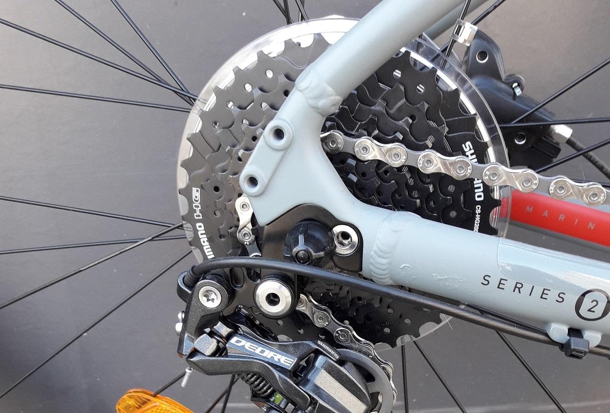 Marin Bobcat LTD Alivio - Schaltwerk - Lucky Bike Test