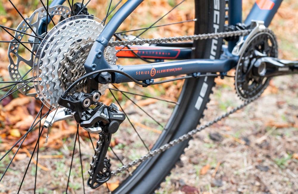 Marin Bobcat LTD XT - Lucky Bike Test - Shimano Kette und Umwerfer XT