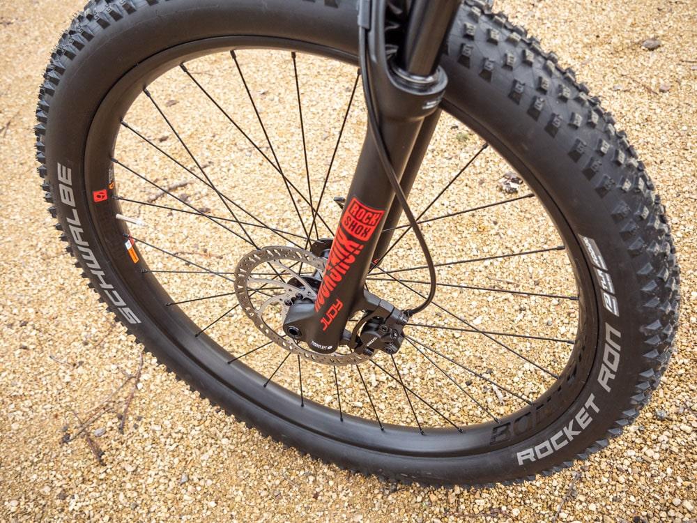 Trek Roscoe 7 2019 - Testbericht Lucky Bike - RockShox Judy TK Federgabel