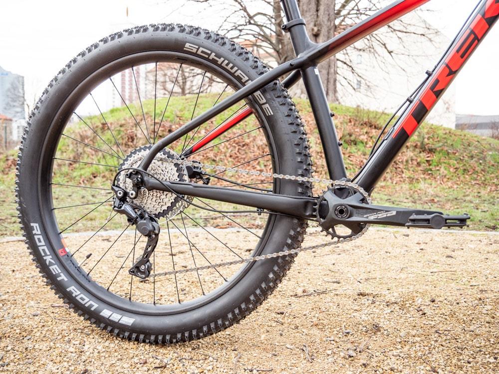 Trek Roscoe 7 2019 - Testbericht Lucky Bike - Schwalbe Rocket Ron Bereifung