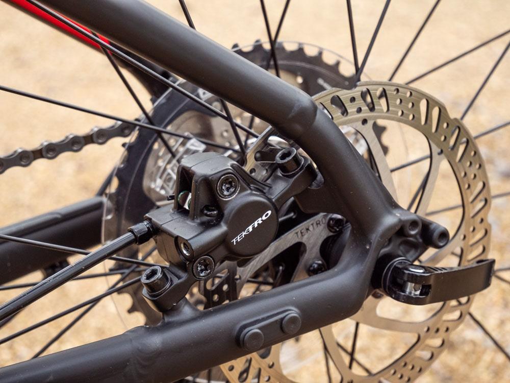 Trek Roscoe 7 2019 - Testbericht Lucky Bike - Tektro Scheibenbremse