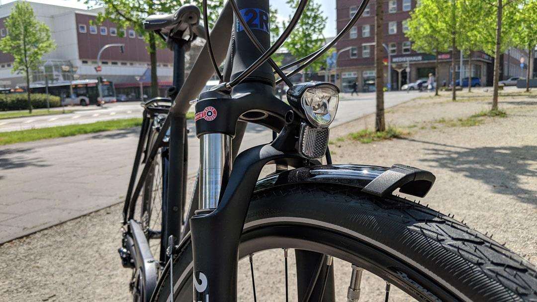 Trekkingbike - 2R Manufaktur Sport XT 2019 - Federgabel mit Lockout