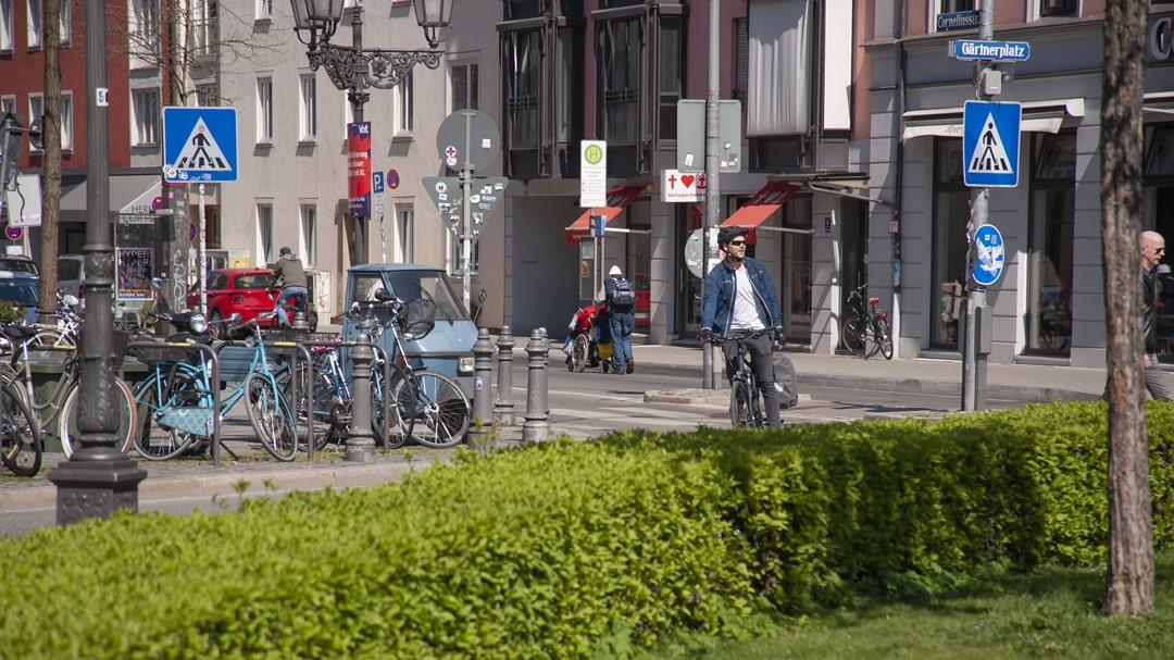 Vorbei am Stau - Mit dem Fahrrad zur Arbeit in Muenchen - Erfahrungsbericht