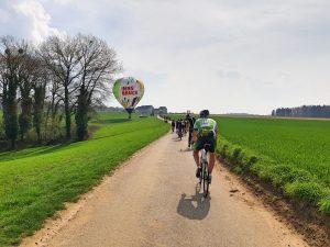 Der Lucky Biker beim Amstel Gold Race