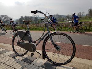 Das Gazelle Hollandrad beim Amstel Gold Race