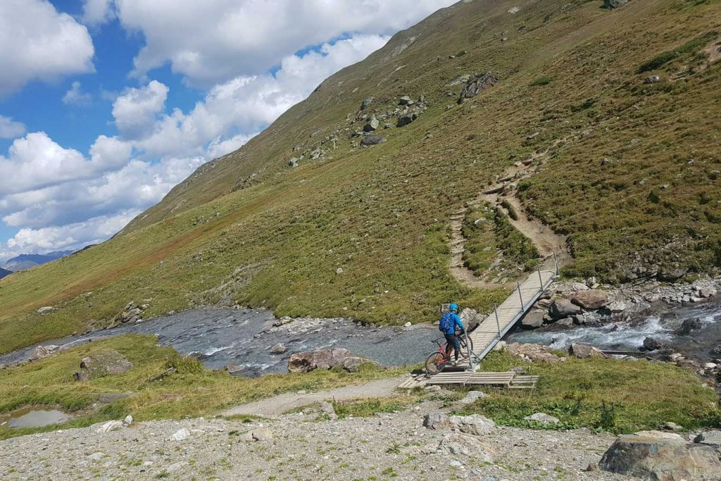 Mountainbike Transalp