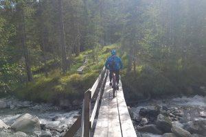 Mountainbike Transalp