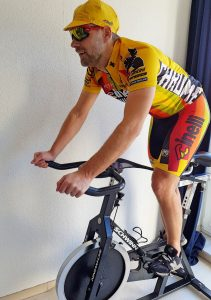 Der Lucky Biker beim Indoorcycling