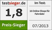 Testsieger Siegel