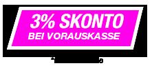 Angebot 3% Skonto