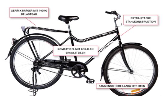 Das Buffalo Fahrrad