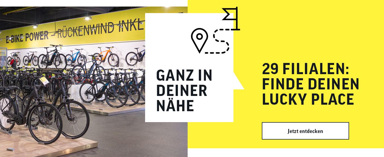 29 Filialen in ganz Deutschland