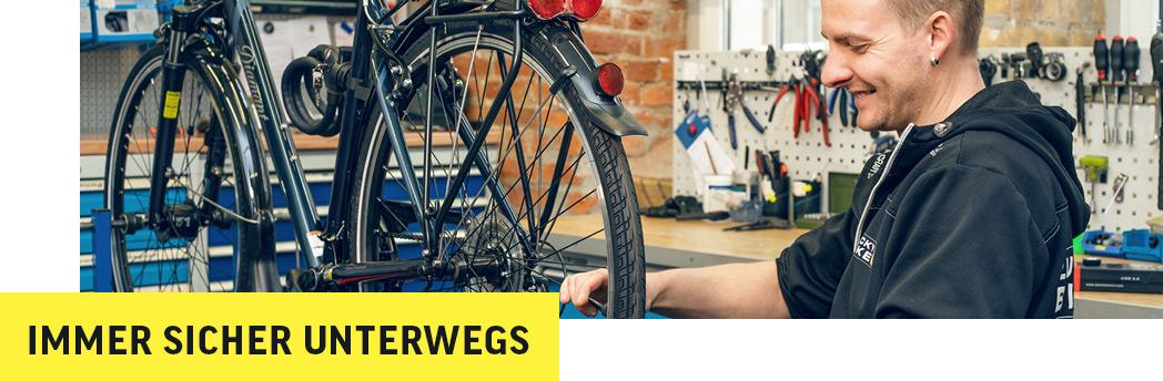 Inspektion und Reparatur bei Lucky Bike