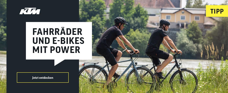 KTM - Fahrräder und E-Bikes mit Power