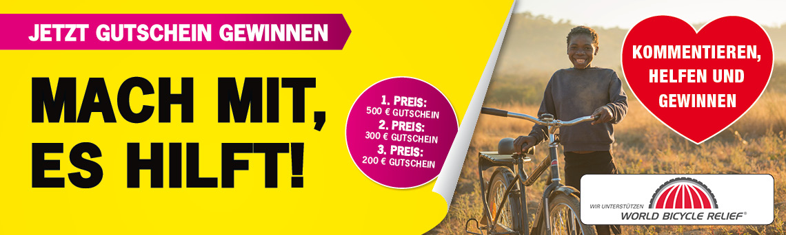 World Bicycle Relief Gewinnspiel