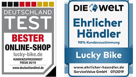 Lucky Bike Auszeichnungen 2019