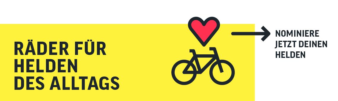 Fahrräder für Helden