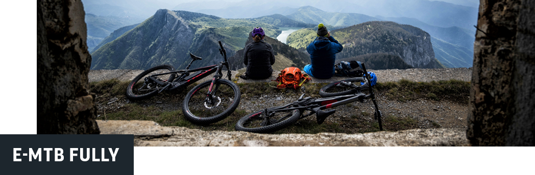 Exklusive E-Mountainbike Fullys bei Lucky Bike