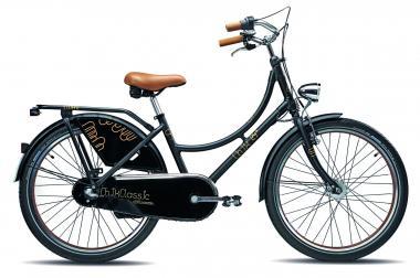 Lucky Bike S´Cool ChiX Classic 24 38 cm   schwarz