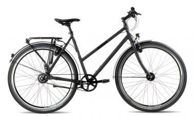 Lucky Bike Rabeneick Niagara Gates 2016 45 cm | schwarz matt