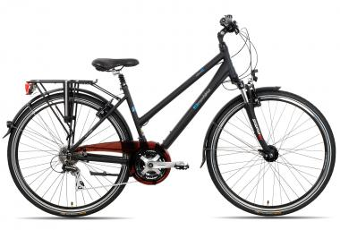 Lucky Bike 2R Manufaktur Acera Trapez 2016 45 cm   schwarz