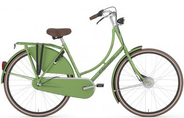 Fahrräder Gazelle Classic R3T Wave 2016 57 cm | bright lime green