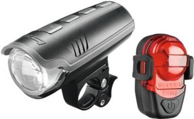 Lucky Bike B & M Akku-LED-Leuchtenset  ZollIxon Pure Zoll