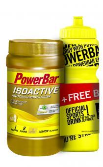 Power Bar PowerBar Isoactive 600g Sportgetränk + Flasche