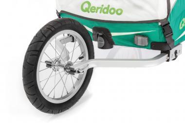 Zubehör > transport > anhänger zubehör: Qeridoo  Kidgoo Joggerrad
