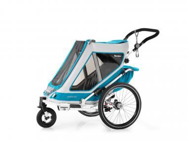 Zubehör > transport > kinderanhänger: Qeridoo  Speedkid1 Kindersportwagen