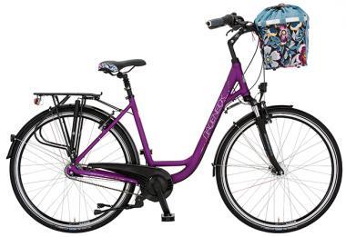 Lucky Bike Rabeneick Bild Der Frau Wave 55 cm | violett