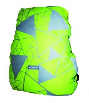 Lucky Bike WOWOW Bag Cover Regenschutzhaube gelb